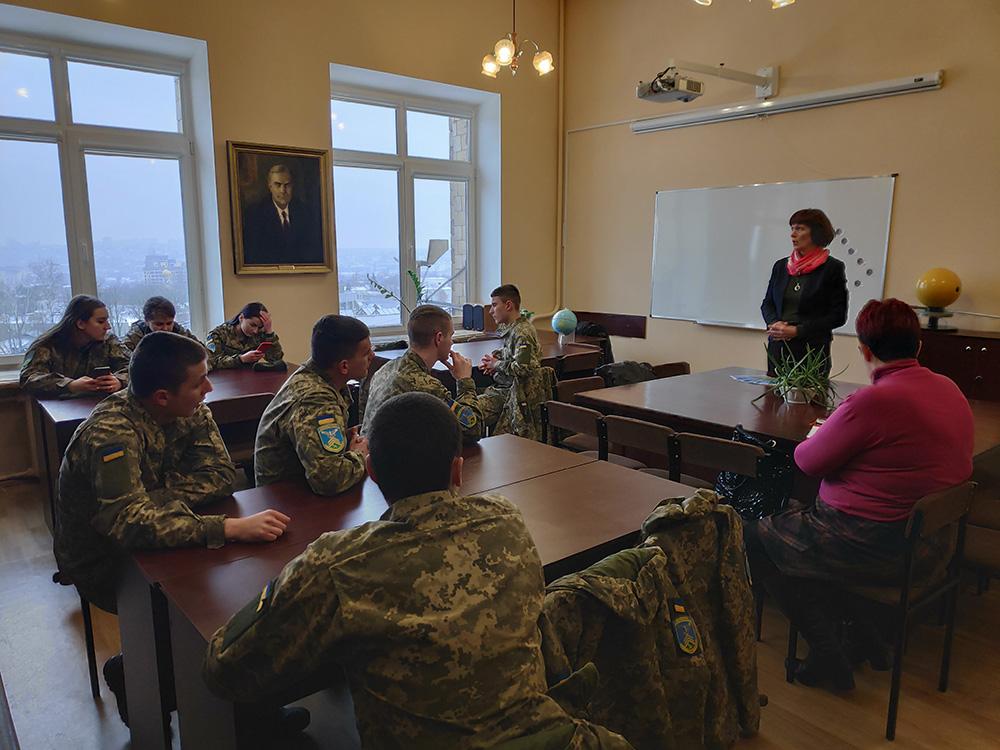 Профорієнтація на кафедрі: курсанти Військового коледжу університету Повітряних Сил імені Івана Кожедуба