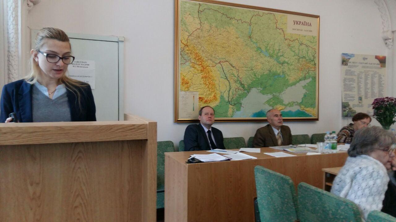 Вітаємо Олену Леонтіївну Агапову з успішним захистом кандидатської дисертації!