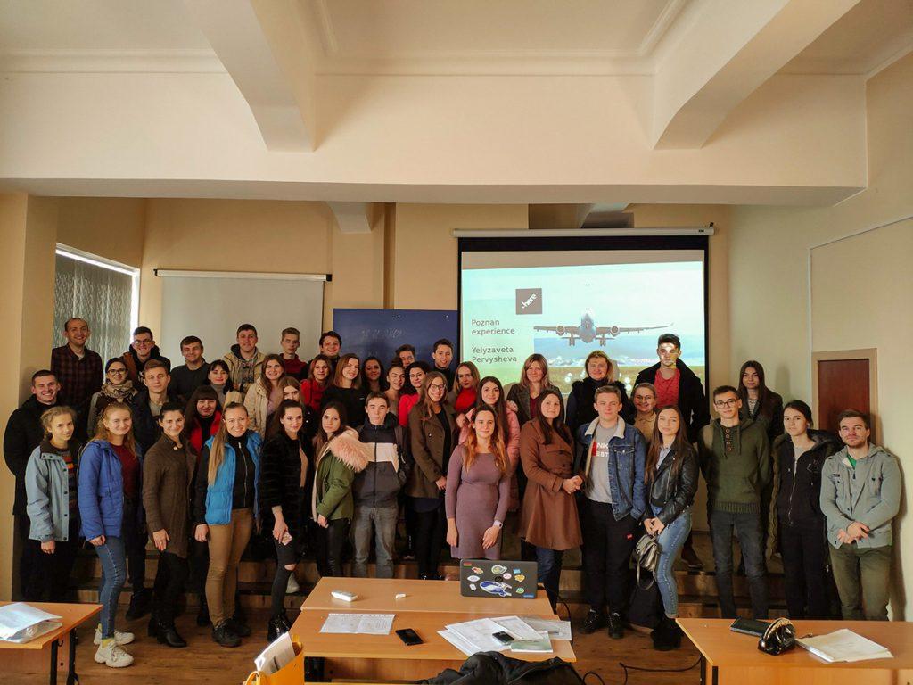 Зустріч студентів та викладачів кафедри з представником міжнародної компанії HERE