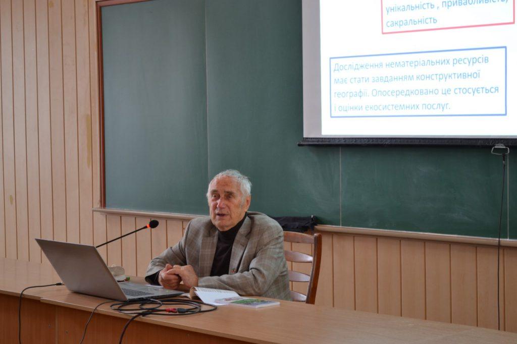Відбулася відкрита лекція Почесного доктора Каразінського університету Леоніда Руденка