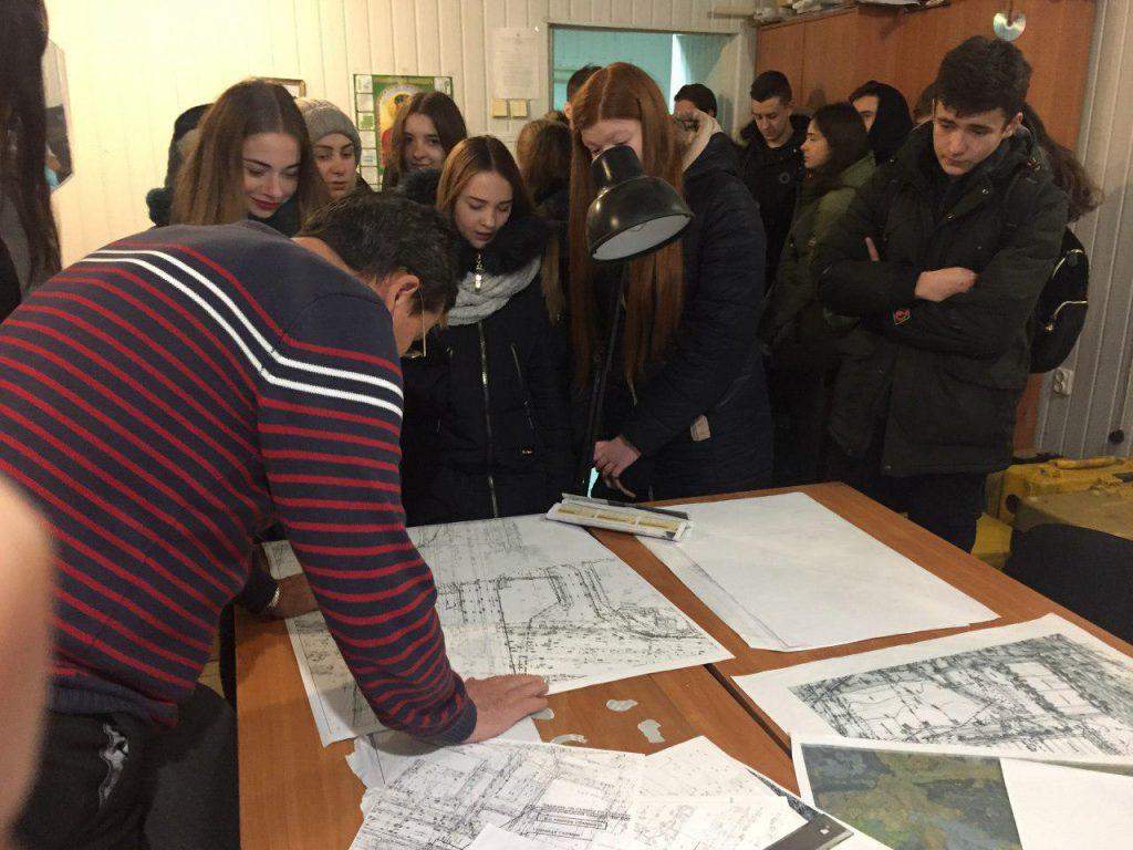 Майстер-класи для студентів в рамках курсу «Топографія з основами геодезії»