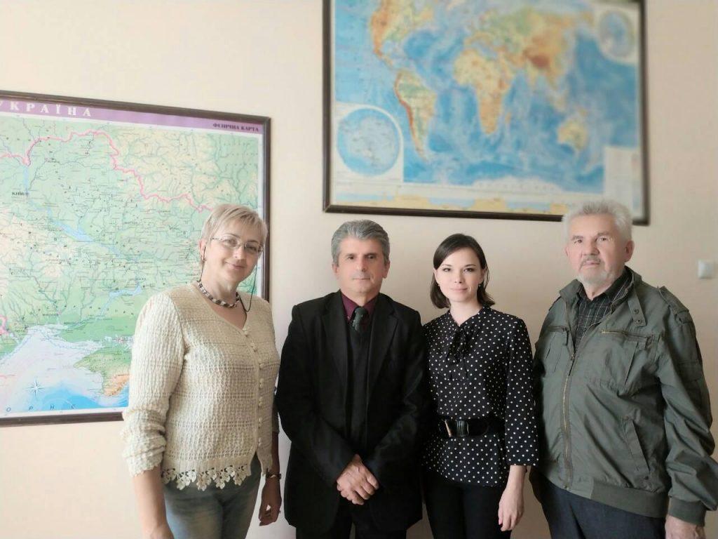 Кафедру відвідав президент асоціації картографів Грузії, професор Тенгіз Петрович Гордезіані