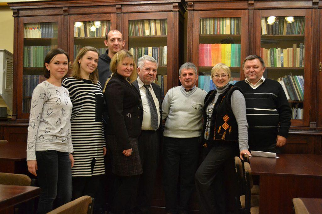 Кафедру  з офіційним візитом відвідав проф. Тенгіз Гордезіані з Тбіліського державного університету імені Іване Джавахішвілі