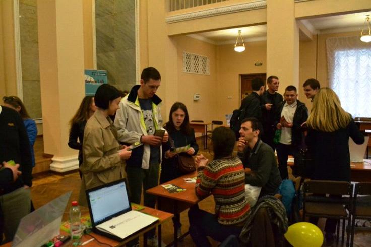 Студенти кафедри відвідали ярмарок вакансій