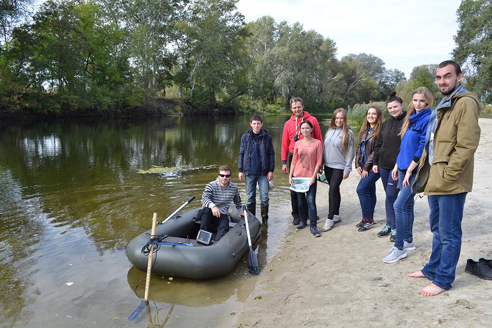 Експедиція вихідного дня — ехолотна зйомка річок Ляхова та Балаклійка