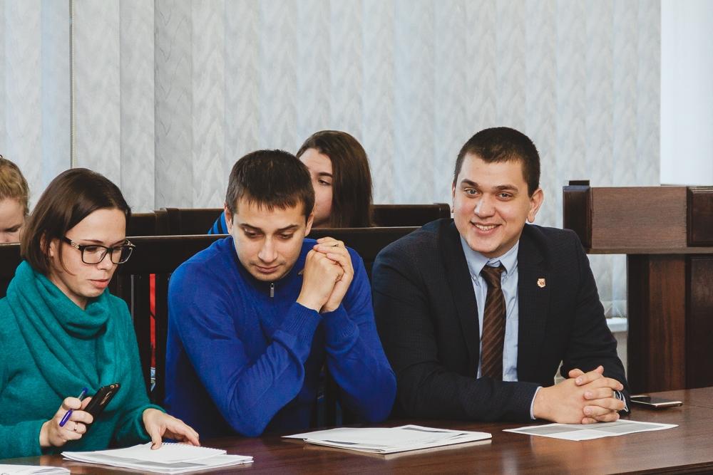 Доцент кафедри Сінна О.І. взяла участь у зустрічі, присвяченій обговоренню стратегічних питань розвитку Каразінського університету